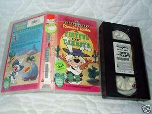 RICOCHET RABBIT A FISTFUL OF CARROTS VHS HANNA BARBERA