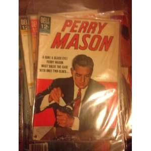 PERRY MASON COMIC BOOK ISSUE # 1     1964 DELL Books