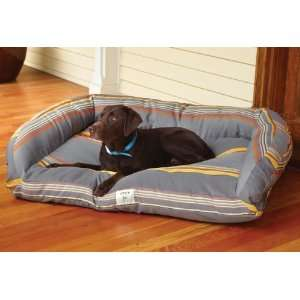Watershed Deep Dish Outdoor Dog Bed / Medium, Gray Blue