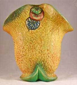WELLER POTTERY Marked 7 PATRA DOUBLE or DIVIDED VASE