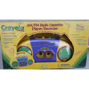 Crayola Am/fm Radio Cassette Player/recorder  Players