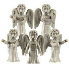Doctor Who Angel Character Building Weeping Army 5 Pack