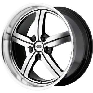TSW Alloy Wheels Bolsa Black Wheel with Machined Face (20x10/5x120mm)