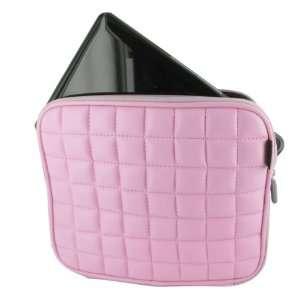 Foam Netbook Laptop Sleeve Slipcase   Pink Faux Leather Electronics