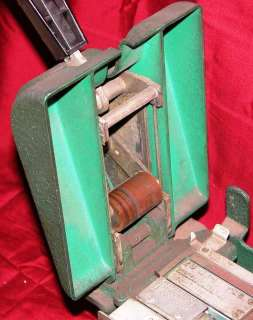 1950s TEXAS COMPANY TEXACO CREDIT CARD MACHINE EMBOSSER