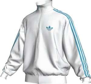 Adidas Originals Firebird Track Top Jacket M MEDIUM WHITE (intense