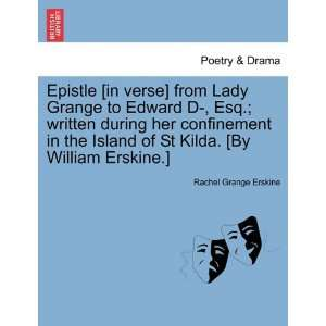 . [By William Erskine.] (9781241168087) Rachel Grange Erskine Books