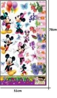 KIDS WALL STICKERS, MICKEY MOUSE MINNIE LARGE SPACE COVERAGE, KIDS