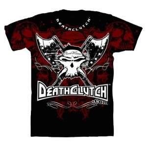 DEATH CLUTCH UFC 121 BROCK LESNAR WALKOUT SHIRT BLACK LARGE