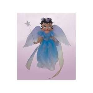 6 Betty Boop Angel In Blue Dress Christmas Ornament #8097