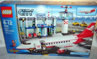 LEGO City Airport AIRPLANE (3182) HARD FIND NEW IN BOX free ship usa
