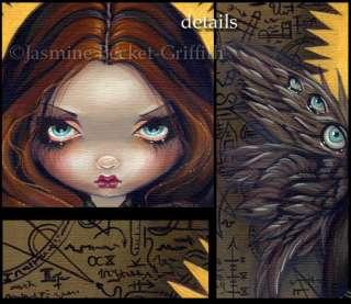 Dress of Alchemy gothic angel fairy art Jasmine Becket Griffith CANVAS