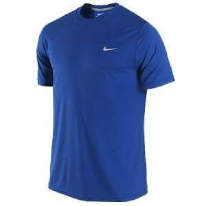 Nike Sport Royal Foundation Short Sleeve Dri Fit Shirt