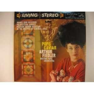 Pops Caviar Arthur Fiedler Boston Pops Orchestra Music