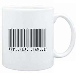 Mug White  Applehead Siamese BARCODE  Cats