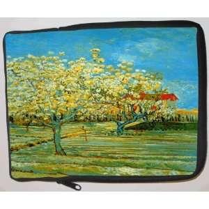 Van Gogh Art Orchard Laptop Sleeve   Note Book sleeve
