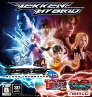 NEW TEKKEN HYBRID PS3 Blood Vengeance 3D Impported from JAPAN @USA