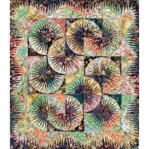 Fan Quilt Pattern and Foundation Papers By Judy Niemeyer: Arts, Crafts