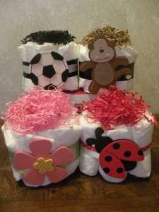 Diaper Cake Mini /Baby Shower Gifts And Favors *CUTE*