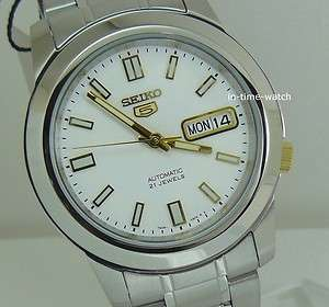 AUTOMATIC MEN STAINLESS STEEL SNKK07 WR30m NEW USA SELLER