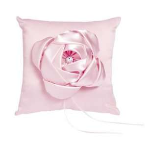 Pink Wedding Ring Pillow   Party Decorations & Gossamer