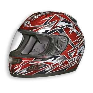 Vega DOT Vented Havoc Altura Full Face Motorcycle Helmet