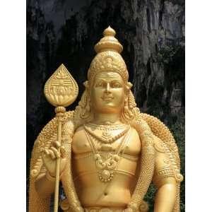 Murugan Statue, Batu Caves, Kuala Lumpur, Malaysia, Southeast Asia