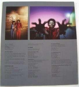 Douglas Kirkland SIGNED Michael Jackson Thriller LTD ED