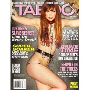 Hustler Taboo Magazine May 2007: HUSTLER: Books