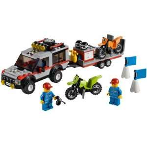 Lego City Dirt Bike Transporter   4433 Toys & Games