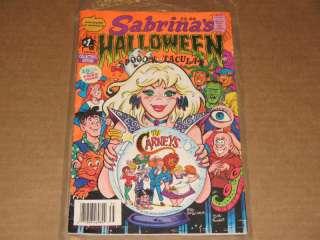 Archie Comics Sabrinas Halloween Spooctacular #1 1993 786936795370