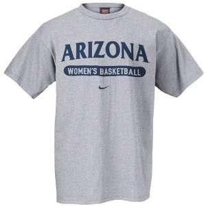 Nike Arizona Wildcats Ash Womens Basketball T shirt
