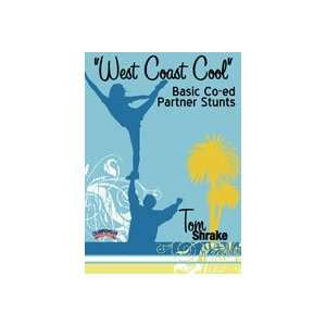Tom Shrake West Coast Cool Basic Co ed Partner Stunts (DVD)