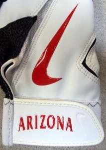 Arizona Wildcats Nike Diamond Elite Pro team issue NCAA batting gloves