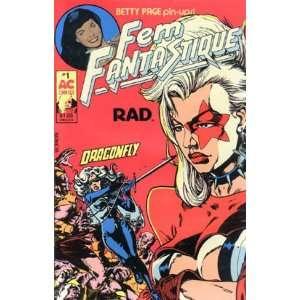 AC Comics Fem Fantastique (Vol. 2 #1); Betty Page Pin