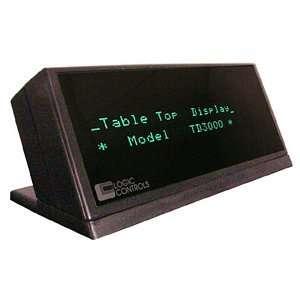 NEW Logic Controls TD3090 Table Top Display (TD3090 BK