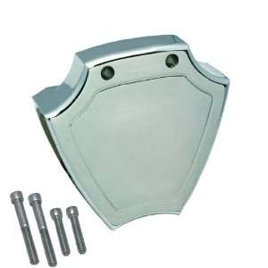 Pro One 204570 Harley Davidson Coil Cover, Smooth, Chrome