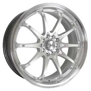 Kyowa Racing 206 KR 206 Hyper Silver Wheel with Painted Finish (19x7.5