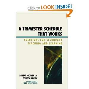 A Trimester Schedule that Works: Solutions for Secondary