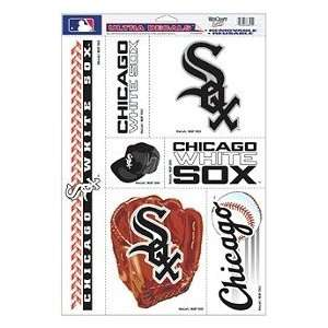 Chicago White Sox 11X17 Ultra Decal Set   6 Sheet Pack