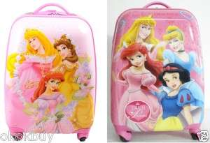 Princess Luggage Bag Trolley Troller Roller rolling 16 42cm shinging