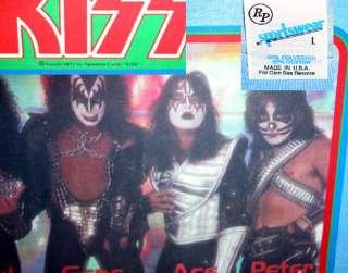 vTg 1977 KISS Aucoin Rock Concert Rock Roll Over Detroit Rock City