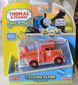 THOMAS & FRIENDS TAKE N  PLAY TALKING FLYNN ~ DAY OF THE DIESELS
