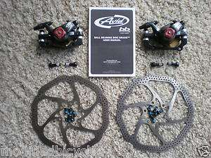 Avid BB7 Disc Brake F&R W/ Avid heat shedding HS1 rotors ^^^ complete