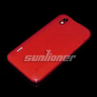 LG P970 Optimus Black TPU Silicone Case Cover + Screen Guard . GREY