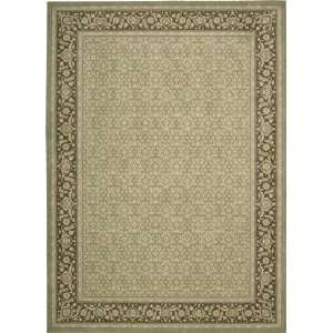 Nourison Persian Empire PE 26 Green 9 6 X 13 Area Rug