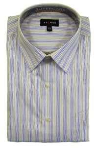 New Mens Axcess Long Sleeve Classic Fit No Iron Cotton Dress Shirt