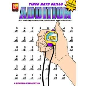 Pack REMEDIA PUBLICATIONS TIMED MATH FACTS ADDITION