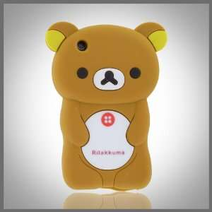 Zany by CellXpressionsTM 3D Brown Big Teddy Bear Hybrid case cover for