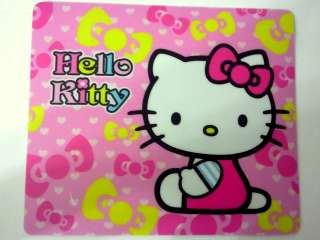You will get 1 unit Hello Kitty pink mouse pad, as picture shown